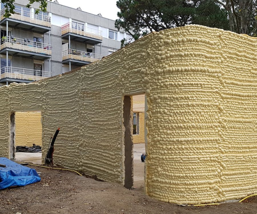 Maison imprimée en 3D - Nantes