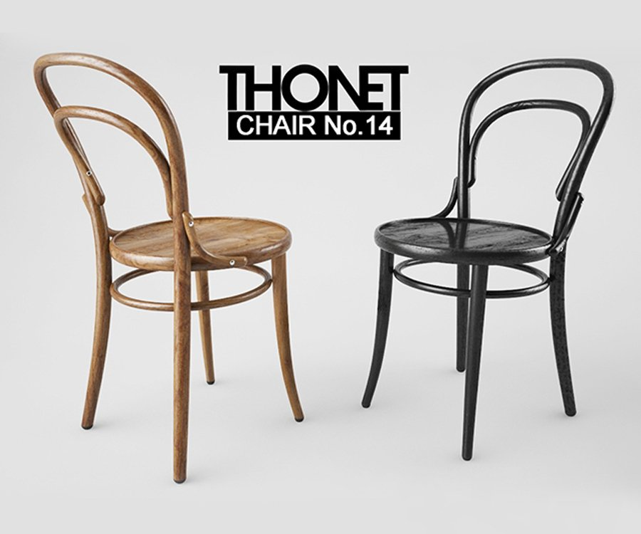 Michael Thonet - Chaise n14, 1859