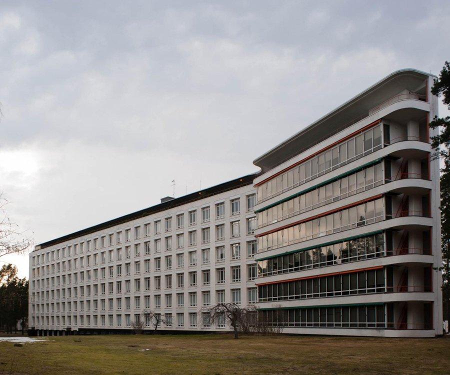 Alvar Aalto - Sanatorium de Paimio, 1933