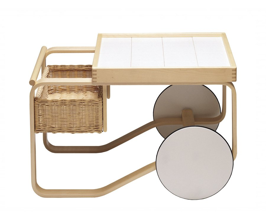 Alvar Aalto - Tea trolley model 900, 1935