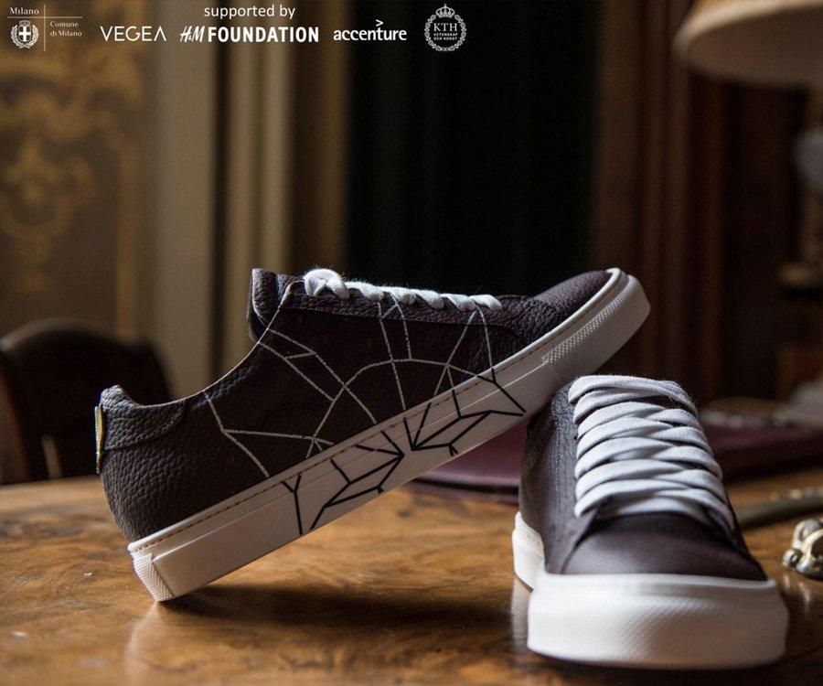 Chaussure en Vegeatextile®