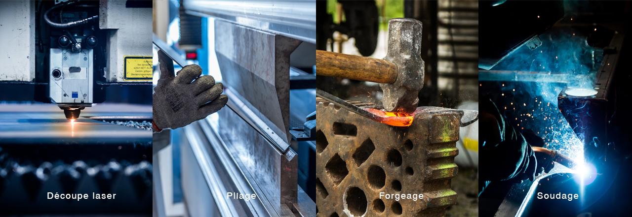 processus métal