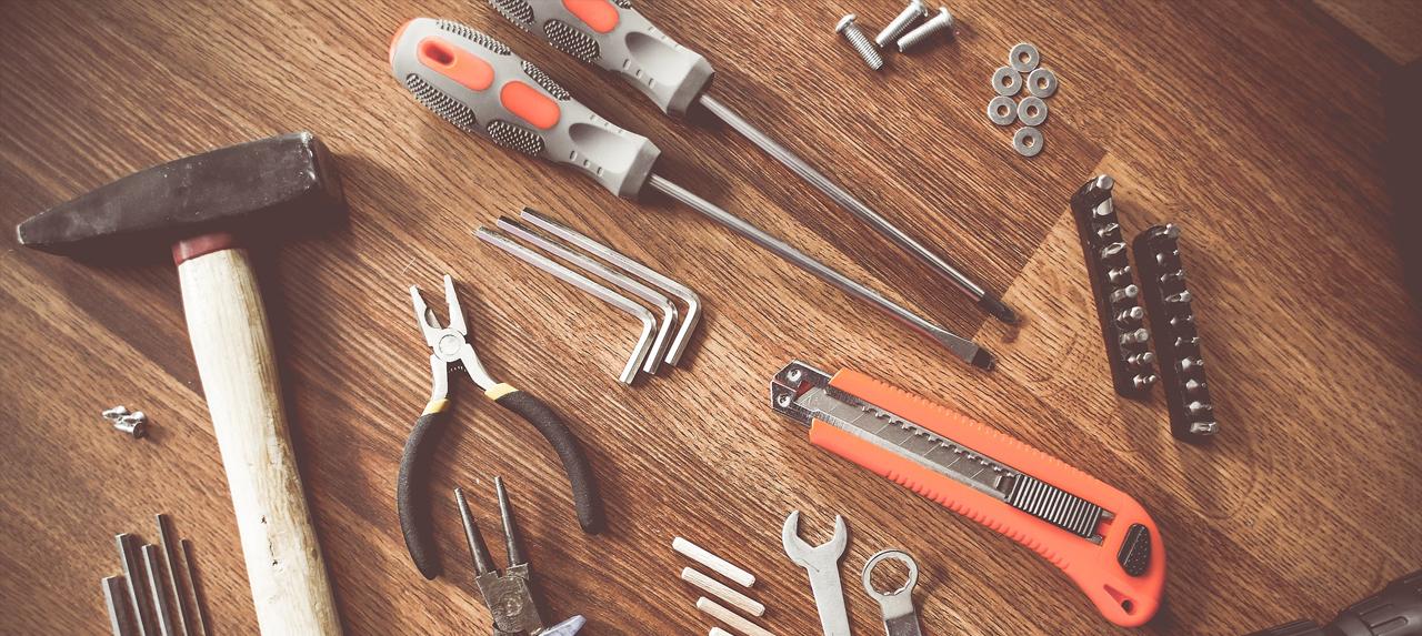 outils pour réparer